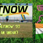 Betnow popularity in India