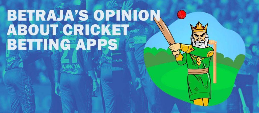 Cricket betting apps on Betraja